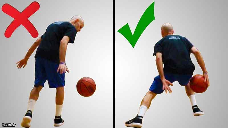 5 عادت اشتباه در حرکت دریبل از پشت سر بسکتبال