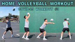 آموزش تقویت مهارت های والیبال در دوران کرونا