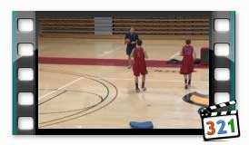 A Dribbling Drill that Promotes Staying Low! - Basketball 2016_TakMb.ir