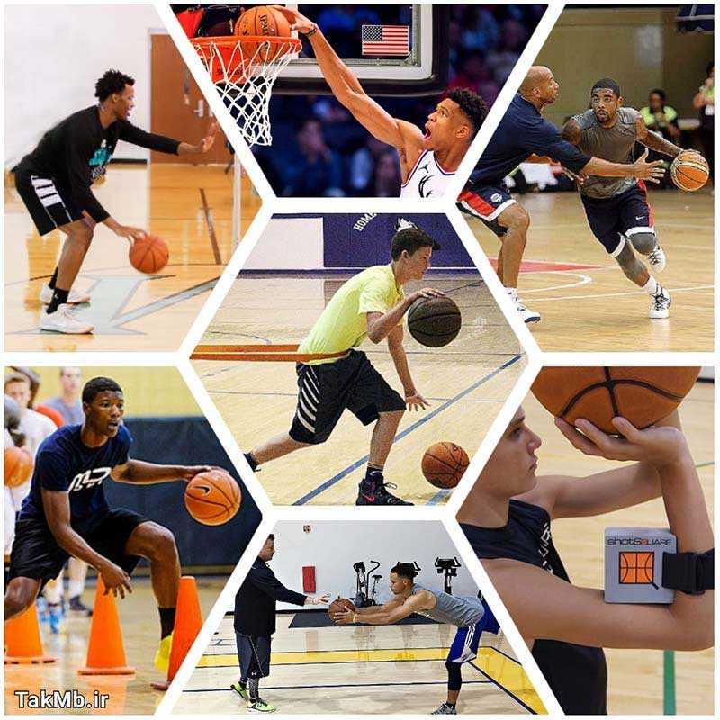 آموزش تخصصی بسکتبال به همراه فیلم های آموزشی