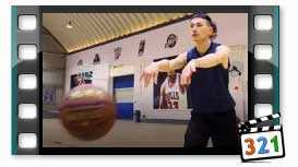 The Two-Handed Pass - Chest and Bounce _ Basketball_TakMb.ir