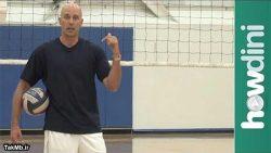 آموزش تکنیک پاس دادن در والیبال توسط جان اسپارو