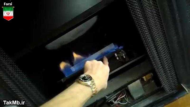آموزش تعمیر بخاری گازی در خانه