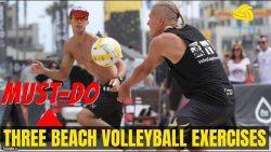 3 تمرین ضروری والیبال ساحلی که باید انجام دهید