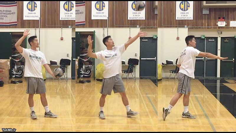 آموزش سرویس موجی در والیبال همراه با تکنیک های حرفه ای