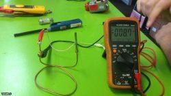 آموزش تست ترموکوپل با مولتی متر
