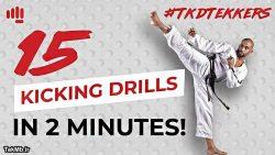 آموزش انواع مختلف لگد زدن در تکواندو در 2 دقیقه