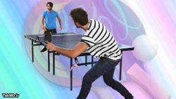 آموزش نحوه صحیح ارتباط بدن با میز پینگ پنگ