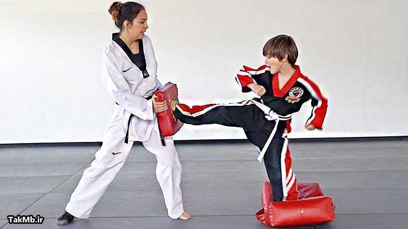 3 تمرین مناسب برای کودکان در تمامی سبک های هنرهای رزمی