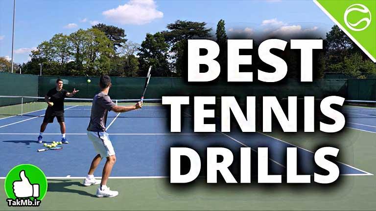 آموزش تمرینات تنیس برای افزایش سرعت