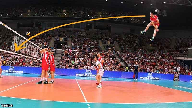 گلچین سرویس های قدرتی در والیبال
