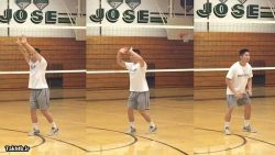 آموزش زمان بندی پاس دادن در والیبال + تمرین برای دست ها - قسمت 2-5